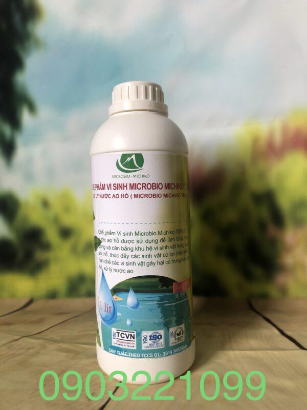 Chế phẩm vi sinh xử lý nước ao hồ - TDN